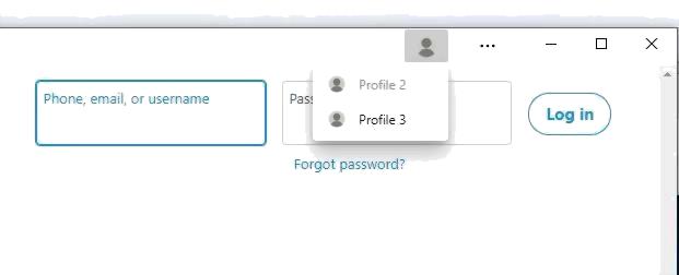 如何为Edge PWA切换浏览器配置文件