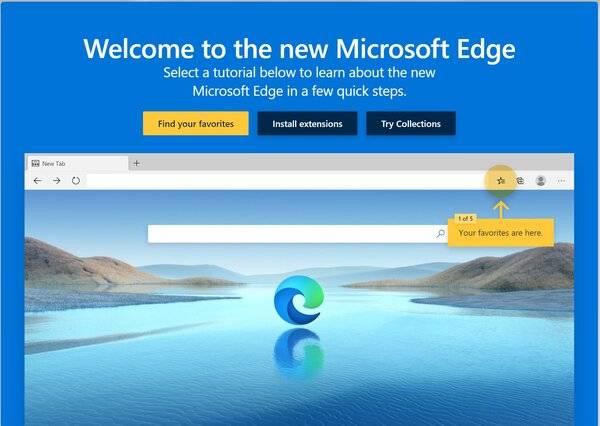 Microsoft Edge甚至通过Chrome Web Store都支持可下载的主题,从而增加了更多自定义设置