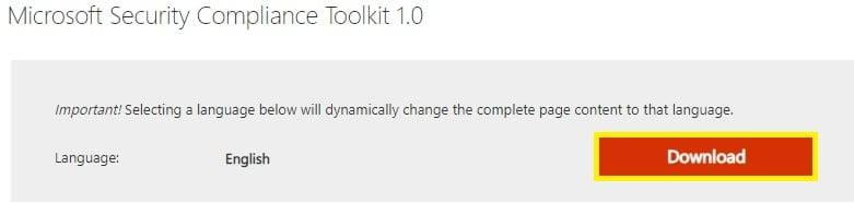 下载并安装Microsoft Edge 88的安全基准