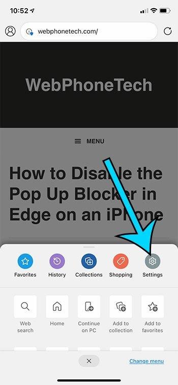 如何在iPhone 12的Microsoft Edge中更改默认搜索引擎