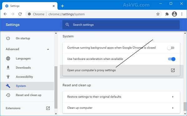 [修复]在Microsoft Edge和Google Chrome中下载代理脚本问题