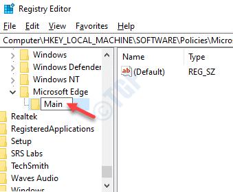 Registry-Editor-Microsoft-Edge-Rename-new-key-as-Main