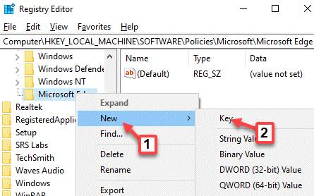 Registry-Editor-navigate-to-path-Microsoft-Edge-right-click-New-Key