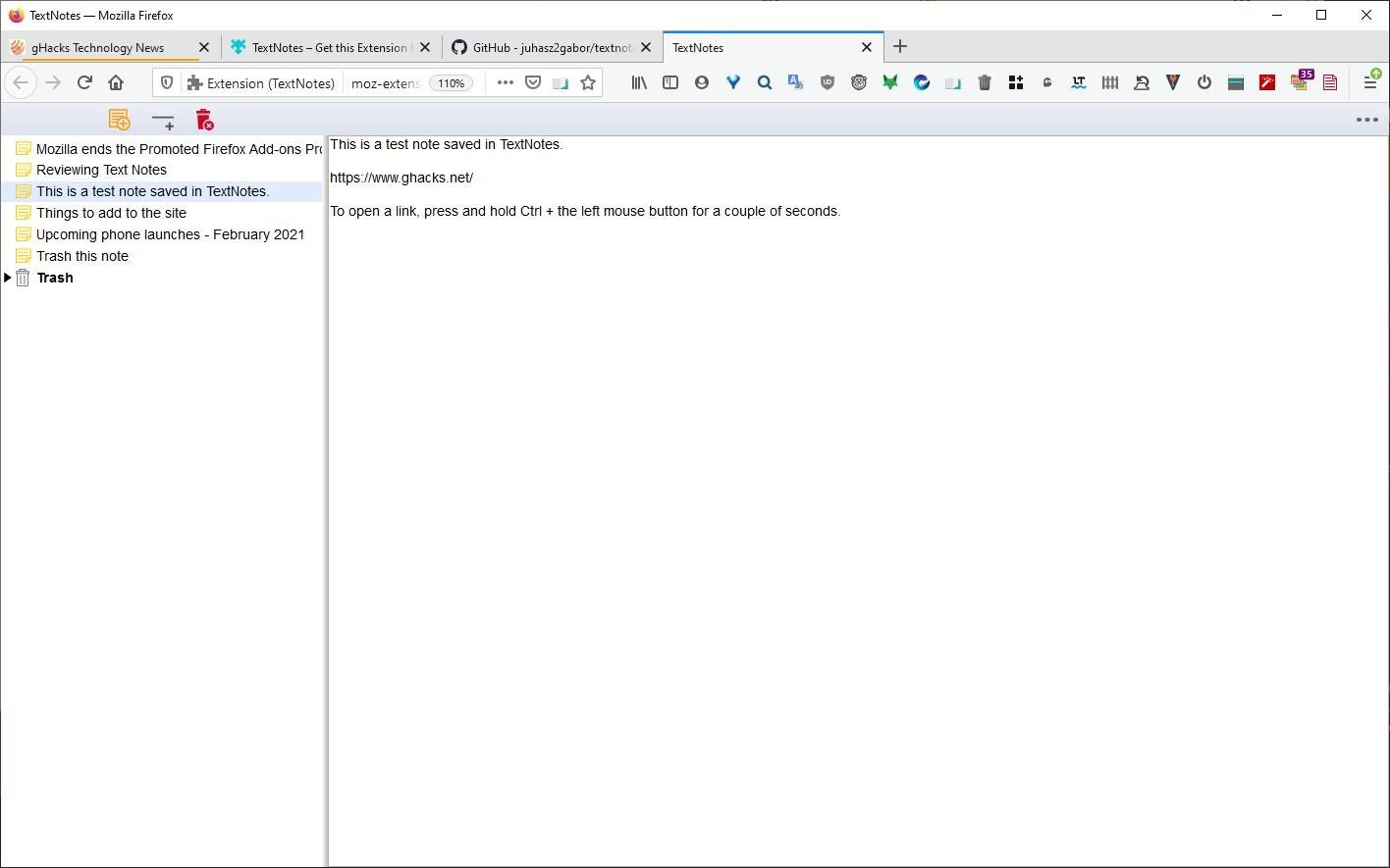 Write-notes-in-a-new-tab-and-save-them-locally-with-the-TextNotes-extension-for-Firefox