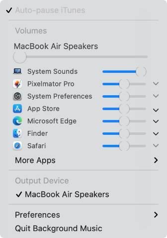 control-individual-app-volume-m1-mac