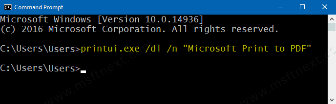 remove-ms-print-to-pdf-from-cmd