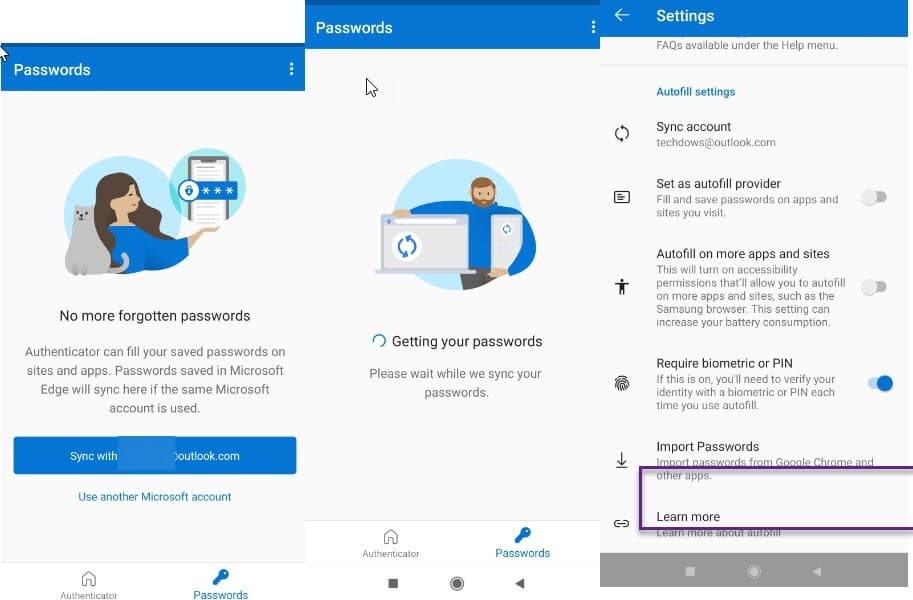 syncing-passwords-to-Microsoft-Account-and-Authenticator-import-option