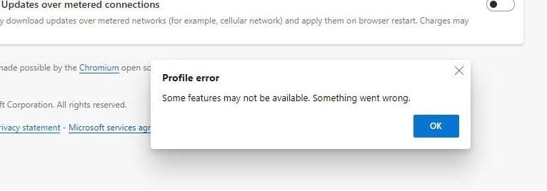 Edge-profile-error-some-features-may-not-be-available