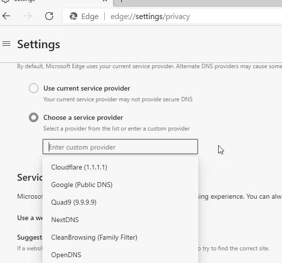 Microsoft-re-enables-DNS-Over-HTTPS-in-Edge