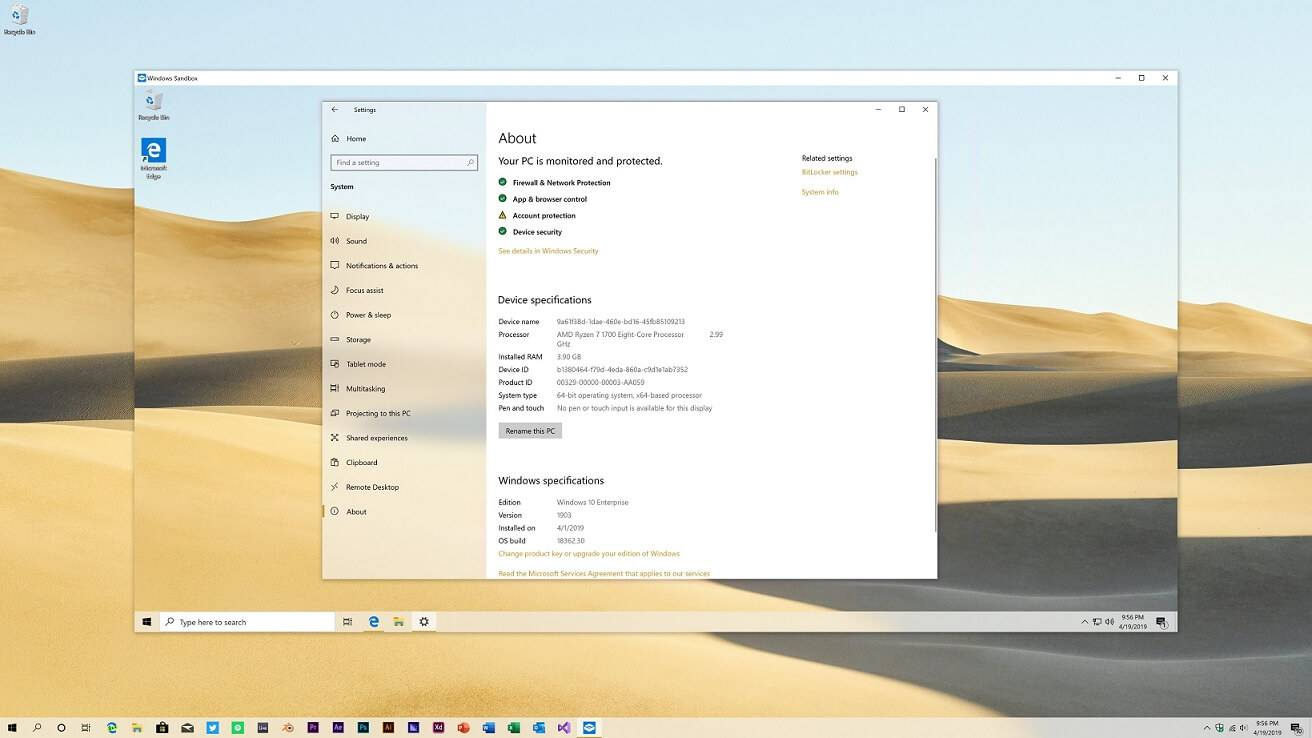 Windows-Sandbox