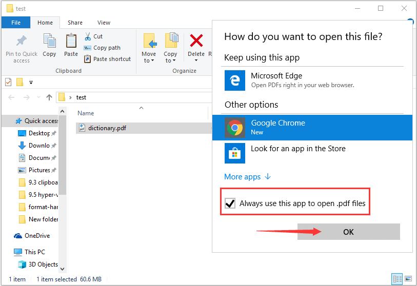 如何在Windows 10的Microsoft Edge中禁用PDF阅读器
