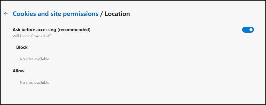 如何在Chrome / Safari / Android / Edge上启用位置服务