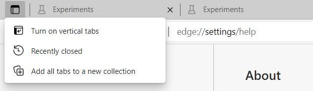 Edge-tab-actions-menu