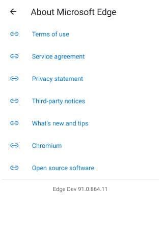 Microsoft-Edge-Dev-91-Android