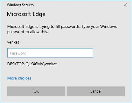 Type-Windows-Password-for-Edge-to-Autofill-Password