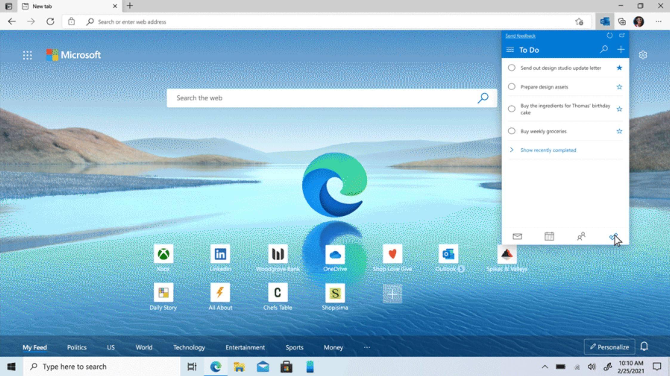 Microsoft Edge 92 发布,包含多项新功能,包括改进的密码管理器