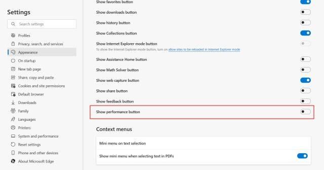 如何在 Microsoft Edge 中启用或禁用效率模式
