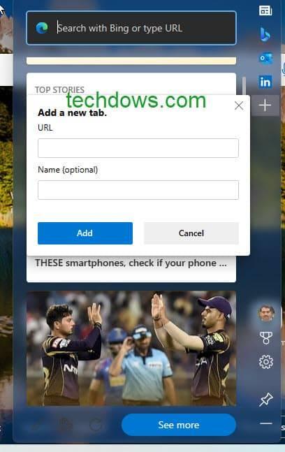 Microsoft Edge Web Widget 获得适用于 Windows 11 的视觉刷新